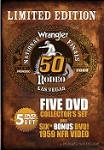 2008 Wrangler National Finals Rodeo - 5 DVD set